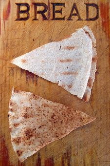 Free Bread Triangles Royalty Free Stock Images - 14092459