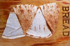 Bread Triangles Stock Image