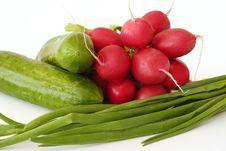 Spring Vegetables Stock Images