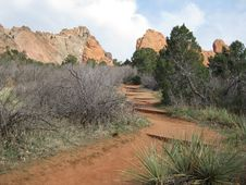 Free Garden Of The Gods Royalty Free Stock Image - 14092956