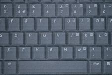 Free Laptop Keyboard Stock Photography - 14093782