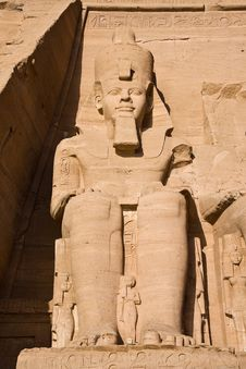 Free Stone Statue In Egypt Royalty Free Stock Image - 14093816