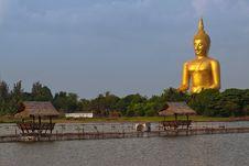 Free Big Buddha Royalty Free Stock Image - 14094736