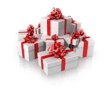Free Gifts Royalty Free Stock Image - 14095316