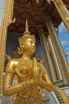 Wat Phara Kaew Stock Photo