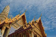 Wat Phara Kaew Stock Image