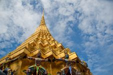 Wat Phara Kaew Royalty Free Stock Photos