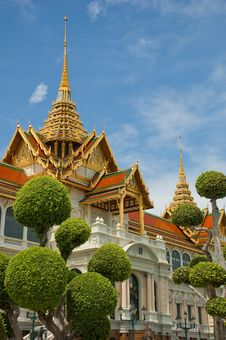 Free Wat Phara Kaew Stock Photography - 14096862