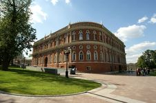 Moscow, Museum-Reserve Tsaritsyno Royalty Free Stock Photography