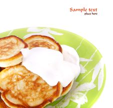 Free Pancakes Stock Photo - 14097540