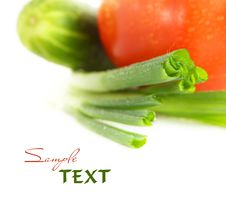 Vegetables. Shallow DOF Stock Image