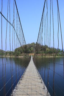 Free Kang Krachan Bridge Royalty Free Stock Photos - 14097768