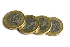 Free Euro Coins Royalty Free Stock Image - 14098016