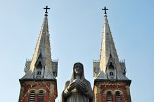 Free St Mary / Notre Dame Cathedral,Saigon,Vietnam Stock Image - 14098721