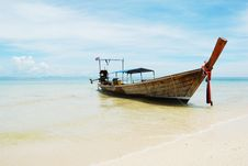 Free Thai Boat Stock Images - 14099074