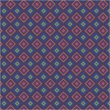 Abstract Color Fabric Tile Retro Seamless Background Texture Pattern Royalty Free Stock Images