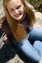 Free Female Teen Fun Royalty Free Stock Photos - 1419288
