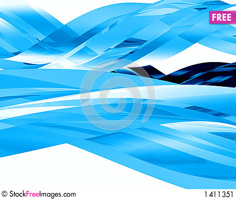 Abstract glass elements 004 Stock Photo