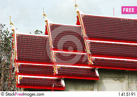 Free Asian Architecture Stock Image - 1415191