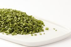Free Freeze Dried Chives Royalty Free Stock Photography - 1410487
