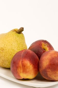 Free Pear And Nectarines Royalty Free Stock Image - 1410566