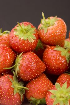 Ripe Strawberry S Royalty Free Stock Images