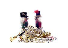 Free Christmas - Two Nutcrackers Stock Photos - 1410853