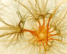 Free Fractal Abstract Royalty Free Stock Photography - 1411227