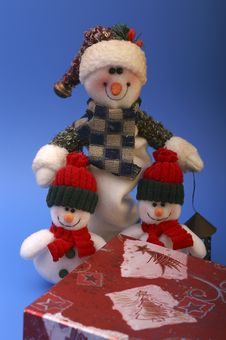 Free Snowmen Stock Images - 1412524
