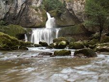Cascade De La Billaude Stock Photos