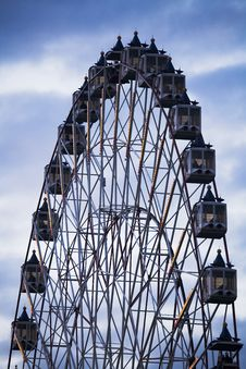 Free An Evening Ferris Wheel Stock Photo - 1412990
