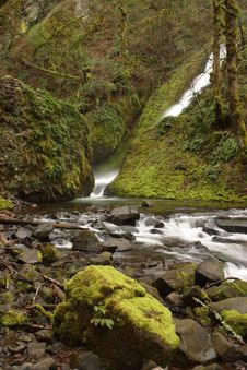 Bridal Veil Creek Stock Photo