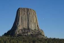 Free Devils Tower Stock Image - 1413461