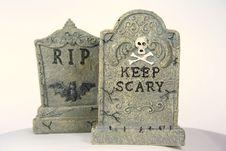 Free Gravestones Royalty Free Stock Image - 1413606