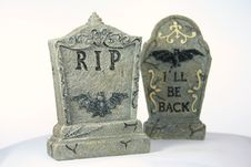 Free Gravestones Stock Photography - 1413612