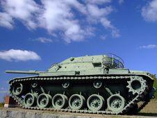 Free Military Tank - Side View Stock Photos - 1414063