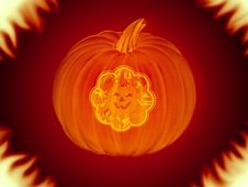 Free Halloween Pumpkin Royalty Free Stock Photos - 1414298