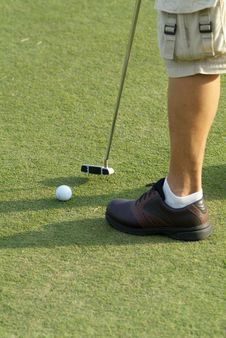 Free Putting On The Green Stock Images - 1414344