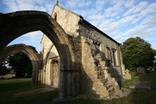 Free Ruined Church In England Royalty Free Stock Image - 1414376