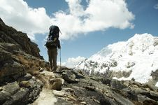 Free Hiking In Cordilleras Royalty Free Stock Image - 1414446