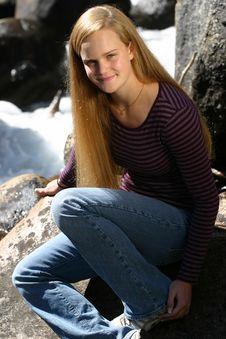 Free Female Teen Portrait Stock Photo - 1414680