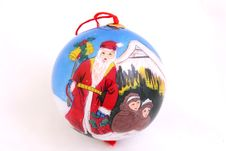 Free Handmade Christmas Ornament Stock Image - 1414831