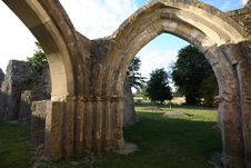 Free Ruined Church In England Stock Image - 1415951
