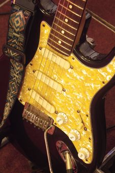 Free Detail Of Electric Guitar Stock Photo - 1416160