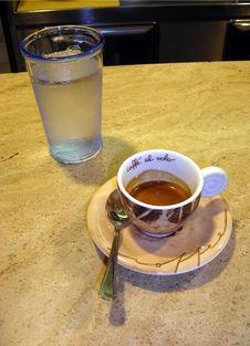 Caffe  Al Volo Royalty Free Stock Photography