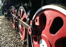 Vintage Steam Train Stock Image