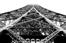 Free Close-up Design Of Eiffel Tower Stock Photo - 1417420
