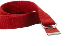 Free Red Belt Royalty Free Stock Photo - 1417555