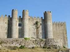 Free Obidos Castle Royalty Free Stock Photography - 1418287