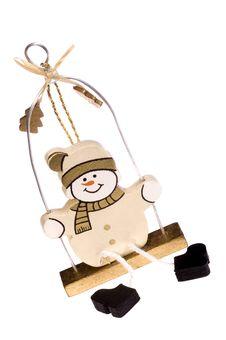 Free Snowman Stock Photo - 1418300